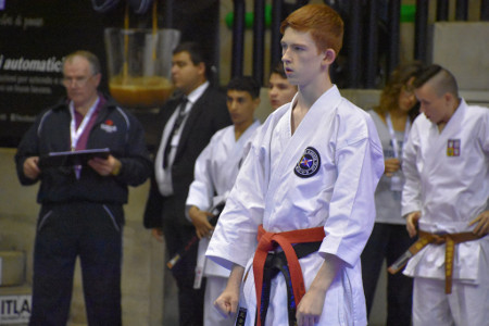 Daniel Windram at Worlds